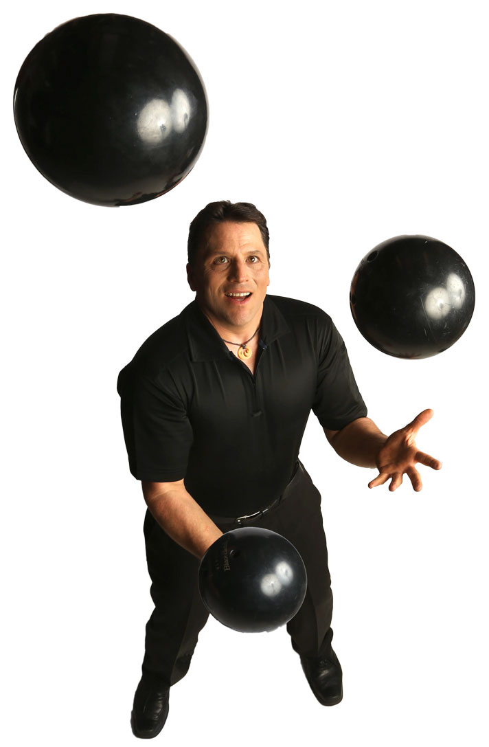 Comedy Juggler Mark Angelo